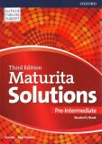 Maturita Solutions 3rd Edition Pre-Intermediate Student's Book - Tim Falla, Paul A. Davies
