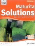 Maturita Solutions Upper-intermediate Student's Book Czech Edition - Tim Falla, Paul A. Davies