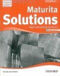 Maturita Solutions Upper-intermediate Workbook with audio CD Pack Czech Edition - Tim Falla, Paul A. Davies