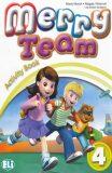 Merry Team - 4 Activity Book + Audio CD - Mady Musiol