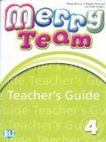 Merry Team - 4 Teacher´s Guide + class Audio CDs - Mady Musiol