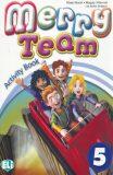 Merry Team - 5 Activity Book + Audio CD - Mady Musiol