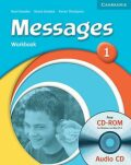 Messages 1 Workbook with Audio CD/CD-ROM - Diana Goodey