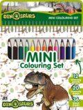 Dinosauři - Mini set s pastelkami - JIRI MODELS