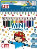Město - Mini set s pastelkami - JIRI MODELS