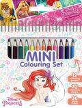 Princezny - Mini set s pastelkami - JIRI MODELS