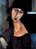 Modigliani: Jeanne Hébuterne - Puzzle/1000 dílků - Ricordi