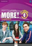 More! 4 Student´s Book with Cyber Homework and Online Resources - Puchta Herbert