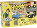My Little Book about Construction (Book, Wooden Toy & 16-piece Puzzle) - neuveden