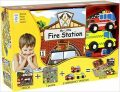 My Little Book about Fire Station (Book, Wooden Toy & 16-piece Puzzle) - neuveden