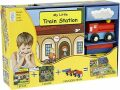 My Little Book about Trains (Book, Wooden Toy & 16-piece Puzzle) - Globe Publishing