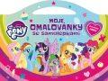My Little Pony - Moje omalovánky se samolepkami - kolektiv