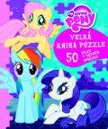 My Little pony - Velká kniha puzzle - autora nemá