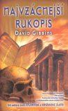 Najvzácnejší rukopis - David Gibbins