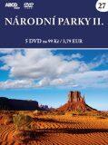 Národní parky II - 5 DVD - neuveden
