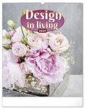Nástěnný kalendář Design in Living 2021, 48 × 56 cm - Presco Group