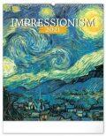 Nástěnný kalendář Impresionismus 2021, 48 × 56 cm - Presco Group