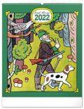 Nástěnný kalendář Josef Lada - Řemesla 2022 - Presco Group
