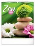 Nástěnný kalendář Zen 2021, 30 × 34 cm - Presco Group
