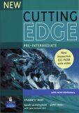 New Cutting Edge Pre-Intermediate Students´ Book w/ CD-ROM Pack - Sarah Cunningham