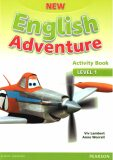 New English Adventure 1 Activity Book w/ Song CD Pack - Anne Worrall, Lambert Viv