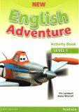 New English Adventure 1 Activity Book w/ Song CD Pack - Anne Worrall, Lambert Viv