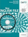 New English File Advanced Workbook with Key + Multi-ROM Pack - Clive Oxenden