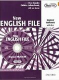 New English File Beginner Workbook with Key+ Multi-ROM Pack - Clive Oxenden, ...