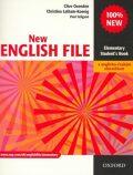 New English File Elementary Student´s Book S Anglicko-českým Slovníčkem - Clive Oxenden, ...