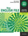 New English File Intermediate Student´s Book S Anglicko-českým Slovníčkem - Clive Oxenden, ...