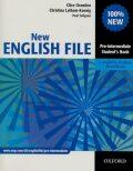 New English file Pre-intermediate Studenťs Book s anglicko-českým slovníčkem - Clive Oxenden, ...