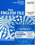 New English File Pre-intermediate Workbook with Answer Booklet and Multi-ROM Pack - Clive Oxenden, Paul Seligson