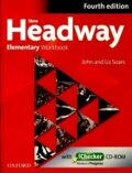 New Headway Elementary Workbook Without Key with iChecker CD-ROM (4th) - John and Liz Soars