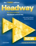 New Headway Third Edition Pre-intermediate Workbook Without Key - John and Liz Soars