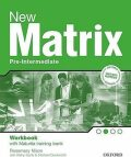 New Matrix Pre-intermediate Workbook with Maturita Support CZEch Edition - Nixon Rosie