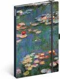 Notes Claude Monet, linkovaný, 13 × 21 cm - Presco Group
