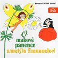O makové panence a motýlu Emanuelovi - Václav Čtvrtek