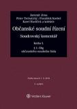 Občanské soudní řízení. Soudcovský komentář. Kniha I (§ 1 až 78g o. s. ř.) - 3. vydání - Jaromír Jirsa, ...