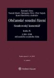 Občanské soudní řízení. Soudcovský komentář. Kniha IV (§ 201 až 250t o. s. ř.) - 3. vydání - Jaromír Jirsa