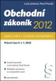 Obchodní zákoník 2012 - Lucie Josková, Pavel Pravda