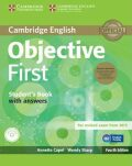 Objective First 4th Edition Student´s Book Pack (Student´s Book with Answers, CD-ROM & Class Audio CDs(2)) - Annette Capel, Wendy Sharp