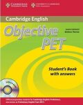 Objective PET Students Book with Answers with CD-ROM - Louise Hashemi, Barbara Thomas