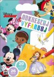Obkresľuj a vyfarbuj Disney Junior - JIRI MODELS SLOVAKIA