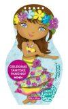 Oblékáme tahitské panenky Mohea - omalovánky - Julie Camel,