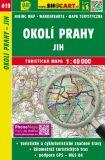 Okolí Prahy - jih 1:40 000 - SHOCART