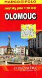 Olomouc městský plán 1:10000 - Marco Polo