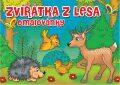 Omalovánky - Zvířátka v lese - Almatyne