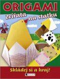 Origami Zvířata na statku - Eva Brožová