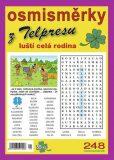 Osmisměrky z Telpresu luští celá rodina 1/2017 - 248 osmisměrek - Pavel Mazáč