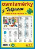 Osmisměrky z Telpresu luští celá rodina 2/2015 - 247 osmisměrek - Pavel Mazáč